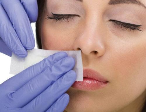 Депиляция волос над верхней губой (депиляция усиков)