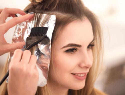 Окрашивание волос по всей длине