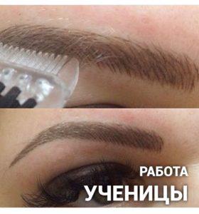 Татуаж бровей